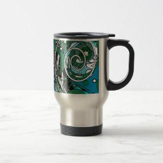 Tween Circles - Abstract Design Travel Mug