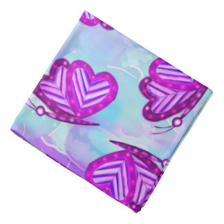 TWEEN de FILLES d'art populaire de Valentines de Bandanas