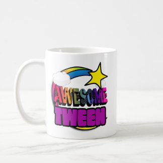 Tween impressionnant d'arc-en-ciel d'étoile mug