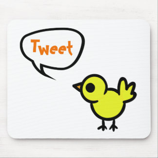 Tweet Bird Mouse Pad