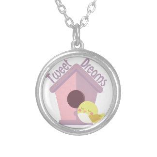 Tweet Dreams Silver Plated Necklace