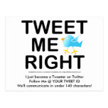 Tweet Me Right WHT2228