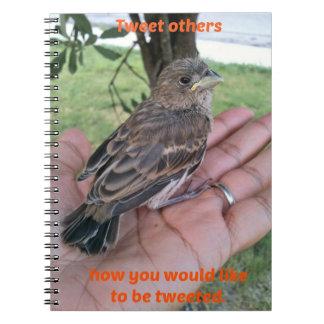 Tweet Others Spiral Notebooks