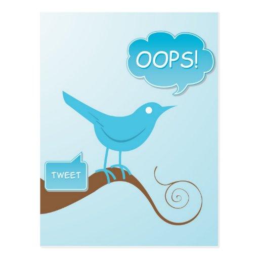 Tweet! Postcard