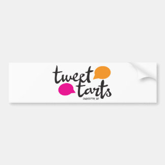 Tweet Tarts bumper sticker