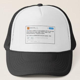 TWEET: This t-shirt is a great t-shirt Trucker Hat