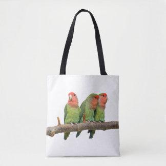 Tweet Trio All Over Print Bag (choose colour)