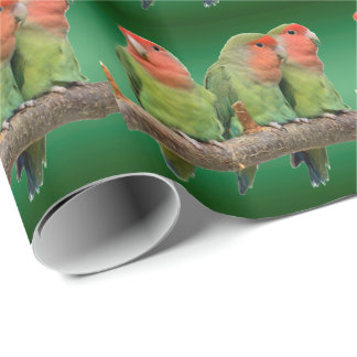 Tweet Trio Wrapping Paper