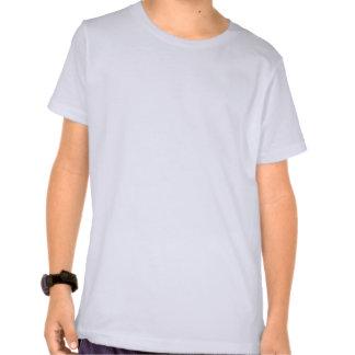 Tweet, tweet, bright blue birds on a girls top shirt