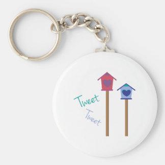 Tweet Tweet Keychains