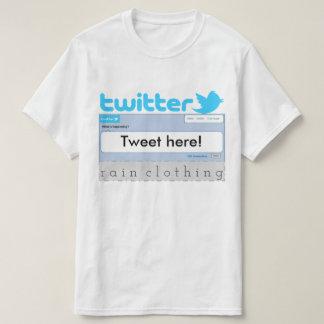 Tweet your own shirt! T-Shirt