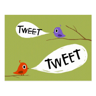 Tweeters Postcard