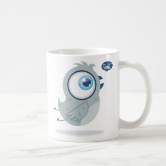 Tweeting bird coffee mug