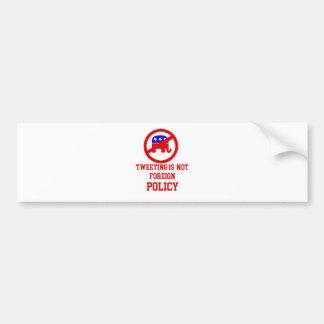 tweeting design bumper sticker