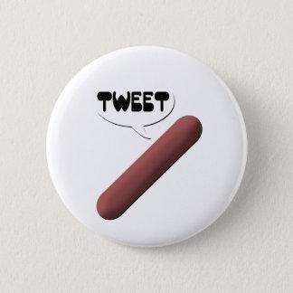 Tweeting Weenie 2 Inch Round Button