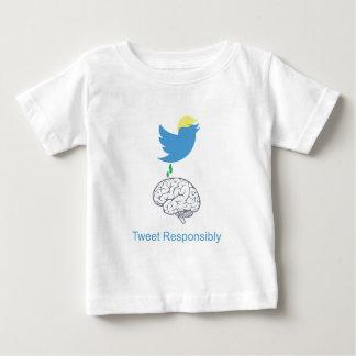 tweetresponsiblyimage baby T-Shirt
