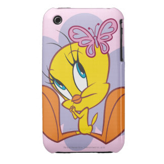 Tweety and Butterfly iPhone 3 Case