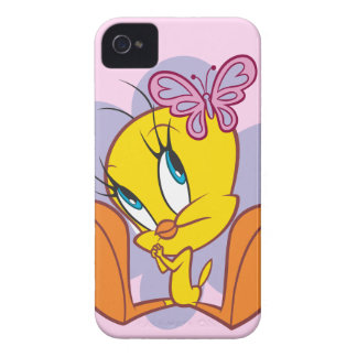 Tweety and Butterfly iPhone 4 Cover