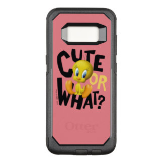 TWEETY™- Cute Or What? OtterBox Commuter Samsung Galaxy S8 Case