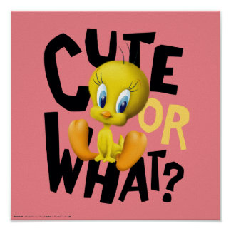 TWEETY™- Cute Or What? Poster