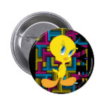 Tweety Electronic Colour 2 Inch Round Button