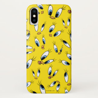 TWEETY™ Face Pattern iPhone X Case