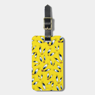 TWEETY™ Face Pattern Luggage Tag