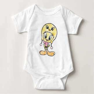 Tweety Hat Baby Bodysuit