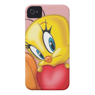 Tweety Holding Heart iPhone 4 Cover