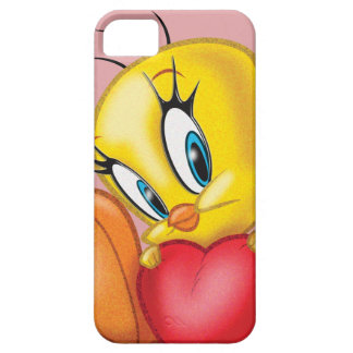 Tweety Holding Heart iPhone 5 Cases