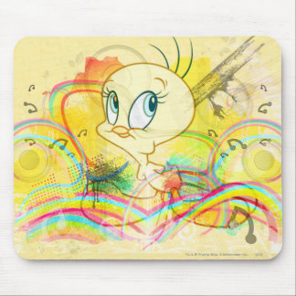 Tweety In Rainbows Mouse Pad