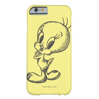 Tweety Lovely Black/White Barely There iPhone 6 Case