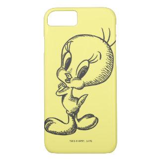 Tweety Lovely Black/White iPhone 8/7 Case