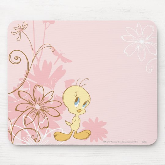 Tweety Pink Mouse Pad