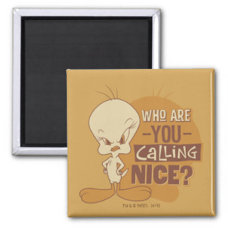 TWEETY™- Who Are You Calling Nice? Magnet