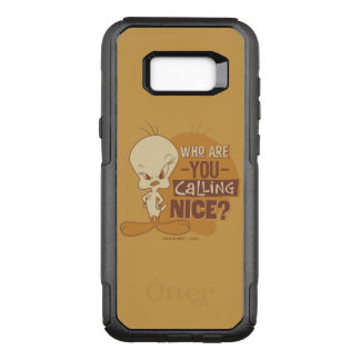 TWEETY™- Who Are You Calling Nice? OtterBox Commuter Samsung Galaxy S8+ Case