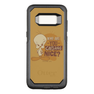TWEETY™- Who Are You Calling Nice? OtterBox Commuter Samsung Galaxy S8 Case