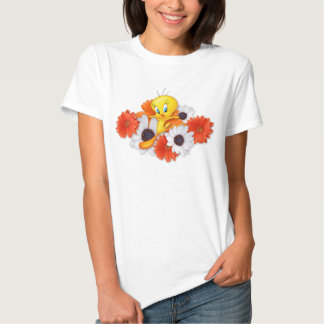 Tweety With Daisies Tshirt