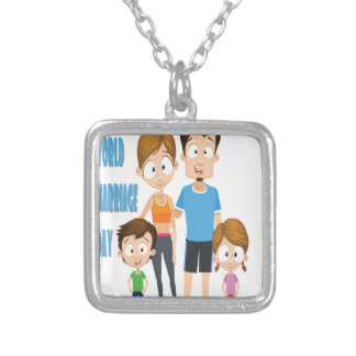 Twelfth February - World Marriage Day Silver Plated Necklace
