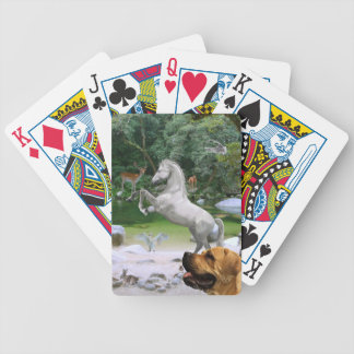 Twelve Animals Bicycle Playing Cards