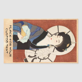 Twelve Aspects of Women, After The Bath Kotondo Sticker