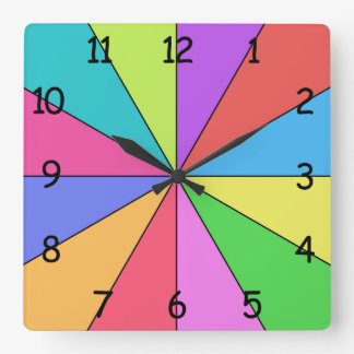 Twelve Colors of Bright Clocks