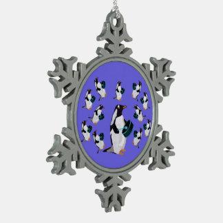 Twelve Drummers Snowflake Ornament