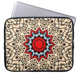 Twelve Points Mandala Laptop Sleeve