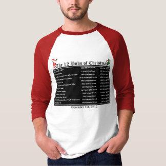 Twelve Pubs 2012 Tshirt