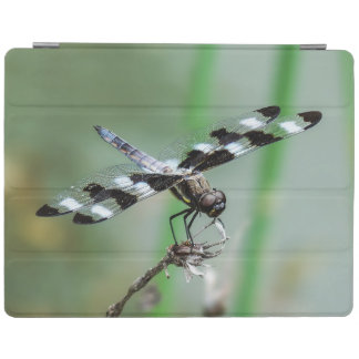 Twelve Spotted Skimmer iPad Cover
