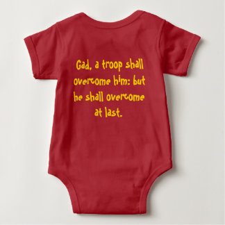 Twelve Tribes: Gad baby shirt