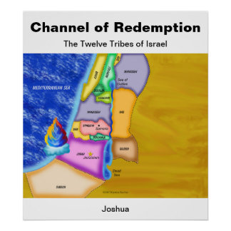 Twelve Tribes of Israel The Promised Land Poster