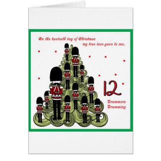 Twelveth Day of Christmas Card