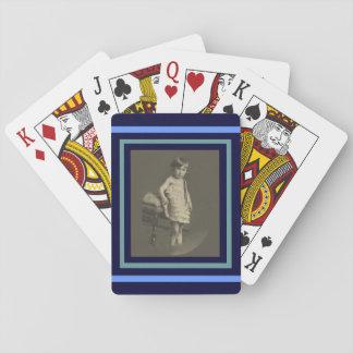 Twenties Child Playing Card
